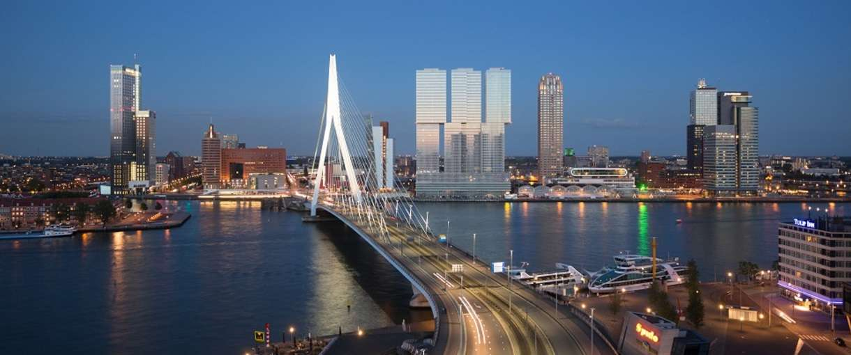Port of Rotterdam - Chemical park - The Netherlands
