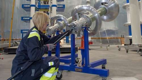 Photos: Newly expanded Borealis High Voltage Testing Centre in Stenungsund, Sweden © Borealis