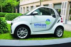Small umicore electric car 1528188828