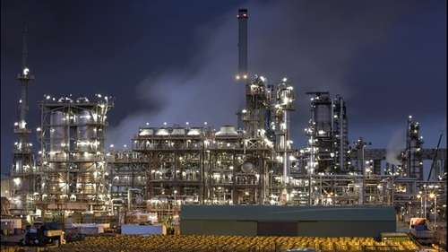 Exxon antwerp refinery investment reinvestment rate equation laser