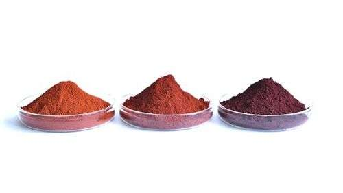 Micronized iron oxide pigments of the proven Bayferrox brand from LANXESS are very easy to disperse and have high color strength and consistency. Because of their property profile, they are mainly used in the manufacture of high-quality paints and coating systems. Photo: LANXESS AG