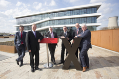 Small inauguration of the new headquarters of lanxess  business unit keltan elastomers  1435746803