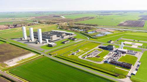 At this installation, nitrogen will be extracted from air here and mixed with high-calorific foreign gas, giving it the same composition as Groningen gas and making it suitable for Dutch households and businesses.